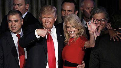 USA : Donald Trump, président élu, se pose en rassembleur