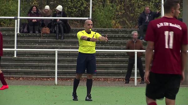 Ammar Sahar, the refugee referee