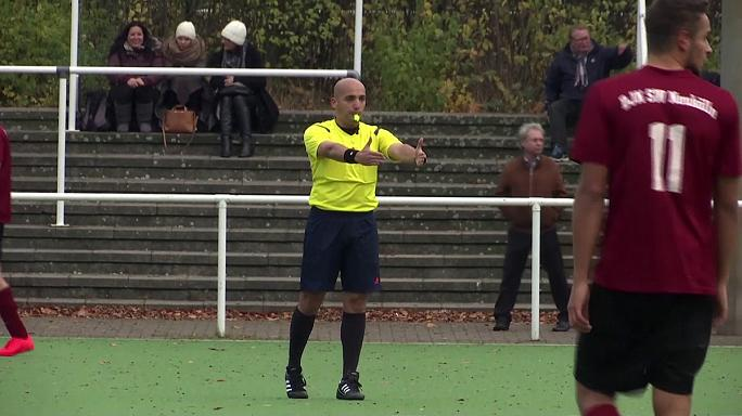 Ammar Sahar, the refugee referee