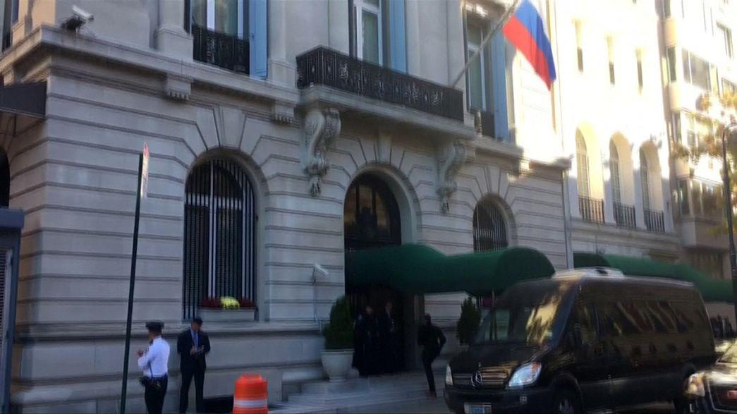 العثور على رجل ميت في القنصلية الروسية في نيويورك