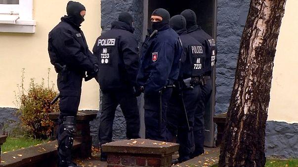 Iszlamistákat tartóztattak le Németországban