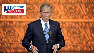 Etats-Unis : l'ex-président George W. Bush a voté blanc