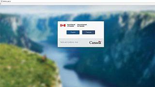Did Trump crash a Canadian immigration website?