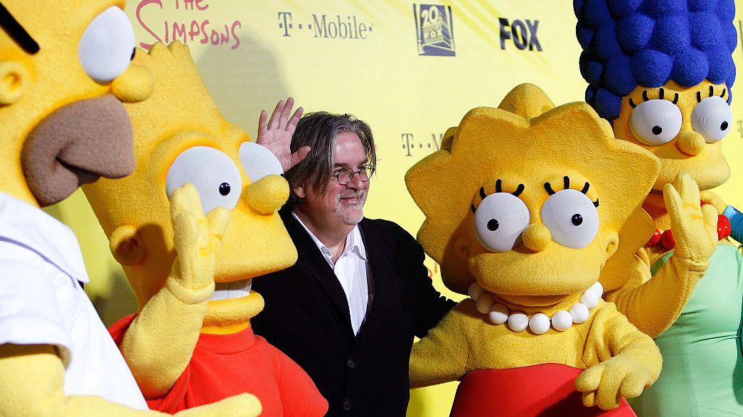 Simpsonlar 16 yıl önce Trump'ın başkan olacağını tahmin etmiş