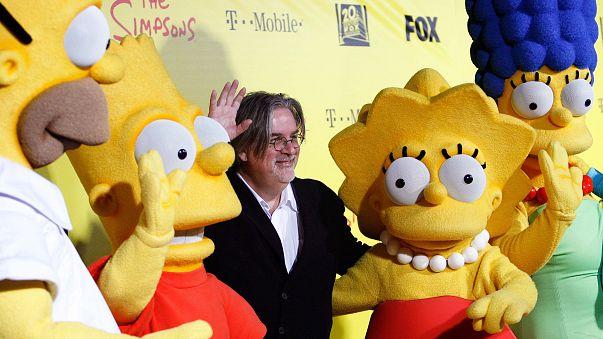 """""""Los Simpson"""" pronosticaron hace 16 años la presidencia de Trump con quiebra incluida"""
