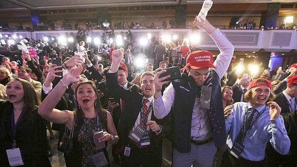أنصار ترامب متفائلون بعد فوزه برئاسة الولايات المتحدة