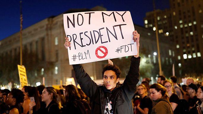 #notmypresident : les opposants à Trump le disent sur Twitter