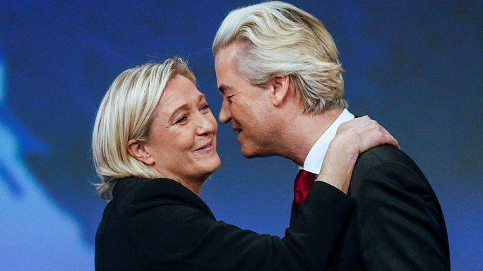 Líderes populistas felicitam Trump