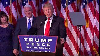 USA-ELECTION 2016 : discours de Trump au QG de sa campagne [No Comment]
