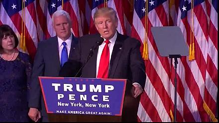US Election 2016: Trump speaks at his campaign headquarters [No Comment]