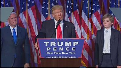 USA: Donald Trump appelle à l'unité