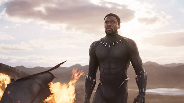 Image: Chadwick Boseman as T'Challa in Black Panther