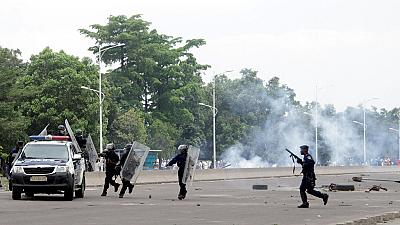 20 Congolese students injured in clashes with Kinshasa police during protest