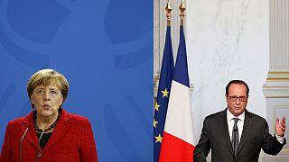 Merkel e Hollande si congratulano con Trump, ma con prudenza