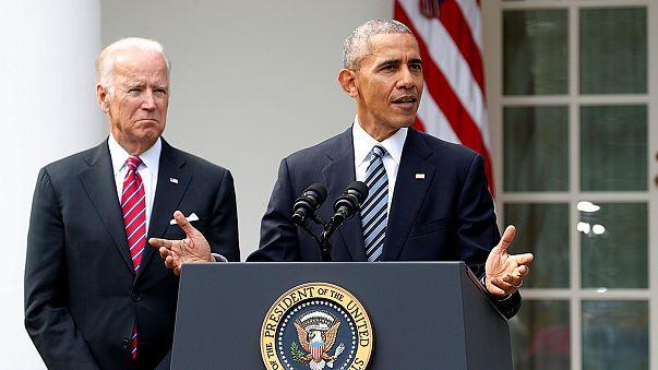 في أول تعليق له على نتائج الانتخابات، اوباما يشدد على عملية الانتقال  السياسي السلس