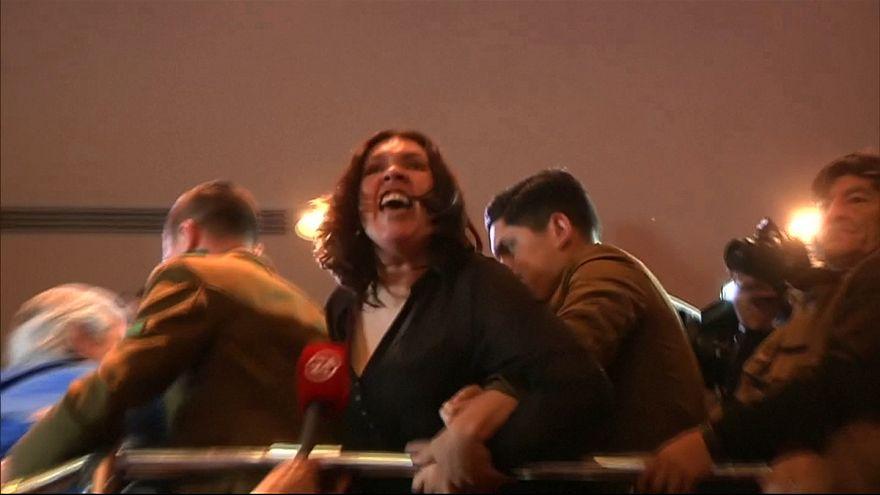 Şili Parlamentosu'nda kargaşa