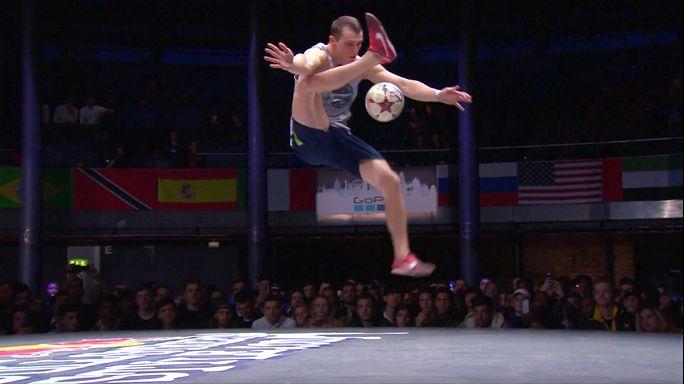 Виртуозы футбольного мяча в Лондоне