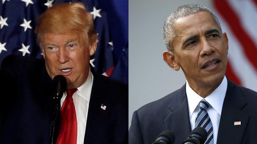 Barack Obama invite Donald Trump à la Maison Blanche