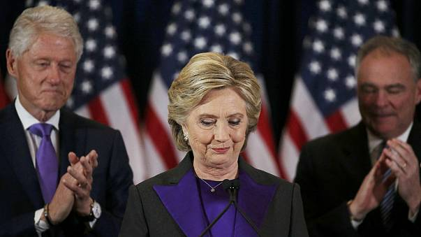 Hillary Clinton tries to draw a line under defeat