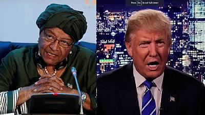 Africa must give unpredictable Trump 'benefit of the doubt' – Johnson Sirleaf
