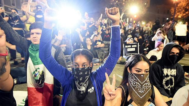 From New York to LA, protests erupt against Trump's win