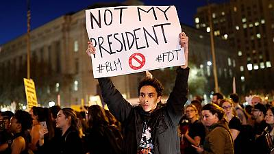 Manifestations anti-Trump aux États-Unis