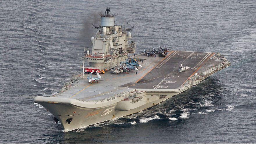 Russian warships 'ward off a Dutch submarine'