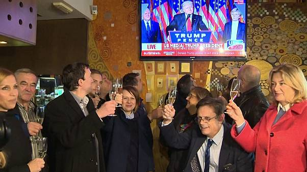 Trumpné pátriájában örömünnep volt férje győzelme