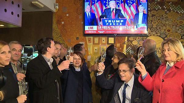 Melania Trump's hometown in Slovenia celebrates victory