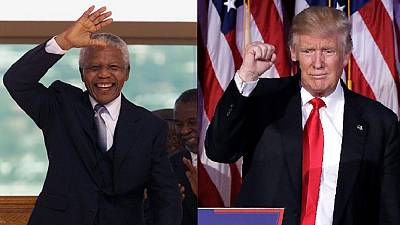 Trump has 'a model of ethical leadership' in Mandela – Annan and others