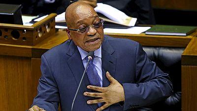 Vote ce jeudi d'une motion de défiance contre le président Zuma