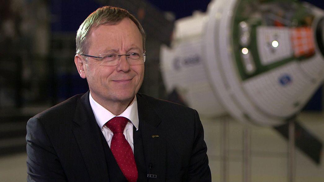 """Jan Wörner: Europa debe """"continuar"""" en la carrera para explorar la Luna y Marte"""