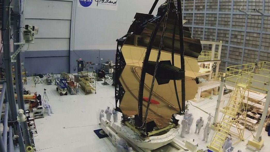 O telescópio James Webb está pronto para conhecer o universo