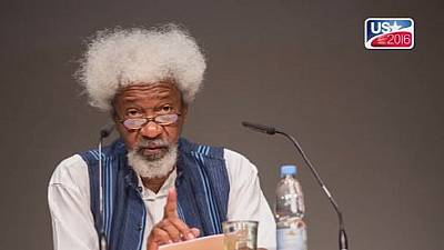 Soyinka not destroying 'green card' just yet despite Trump's win