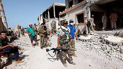 Libya fighters free more areas in Sirte