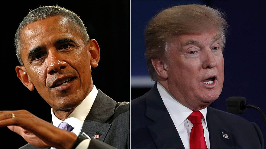 From Barack Obama to Donald Trump in eight years