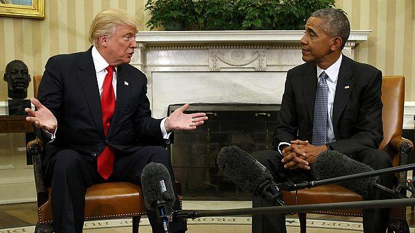 Obama a Fehér Házban tárgyalt Trumppal
