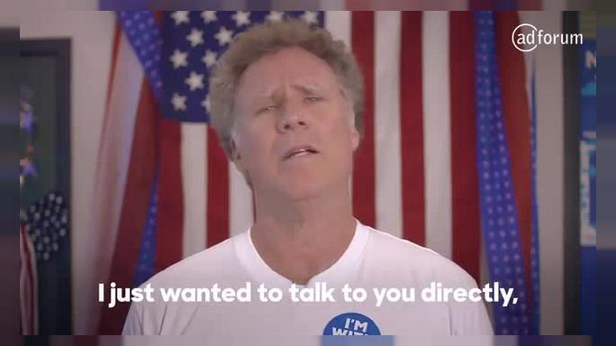 Will Ferrell Urges Millennials to Vote in New Hillary Clinton Ad (Hillary for America)