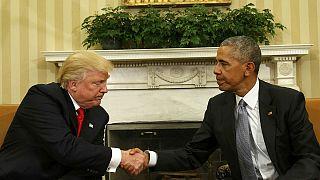 Президенты США обменялись любезностями