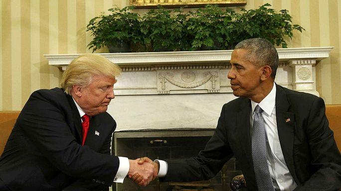 Primo incontro Obama-Trump