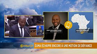 Jacob Zuma survives another no confidence vote [The Morning Call]