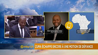 Zuma échappe de nouveau à une motion de censure [The Morning Call]
