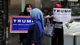Trump Muslim ban removed from site by accident