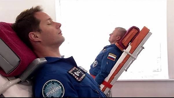 فضانوردان ایستگاه فضایی بینالمللی در قزاقستان خود را برای ماموریت جدید آماده میکنند