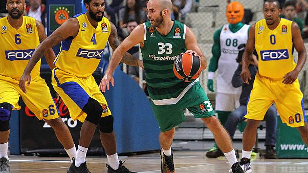 El Panathinaikos necesita la prórroga para ganar