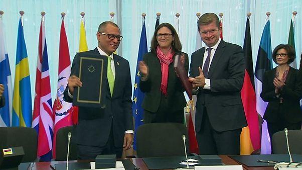 AB-Ekvador ticaret anlaşması imzalandı