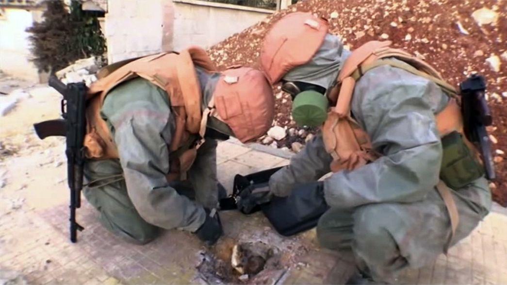 Сирийскую оппозицию обвиняют в применении химического оружия