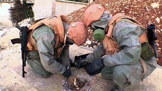 En Syrie, les Russes accusent les rebelles d'avoir recours aux armes chimiques