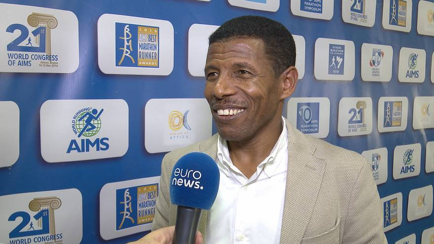 Running all the way to the Presidency - Euronews speaks with long-distance great Gebrselassie