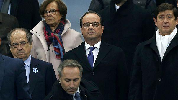 Stade de France: rendőrök hada biztosította a pénteki selejtezőt